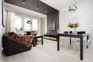 wnętrze mieszkania 2-pokojowego
