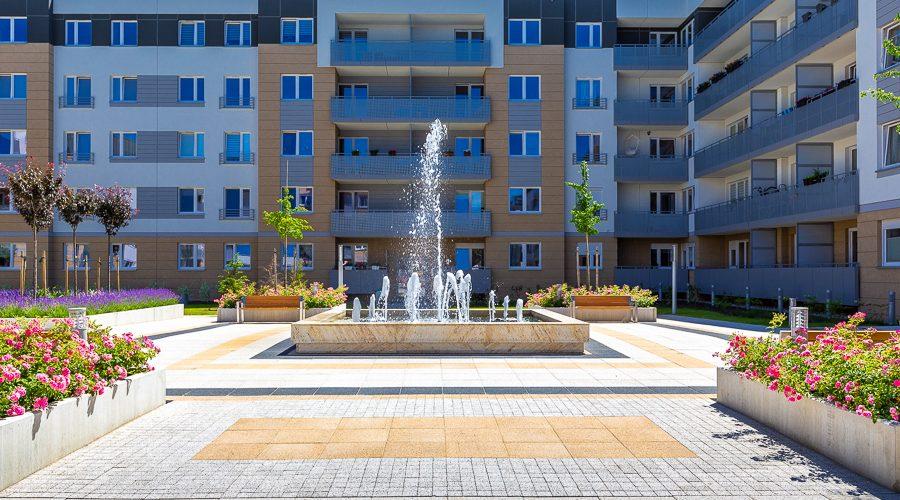 fontanna na osiedlu Lokum di Trevi