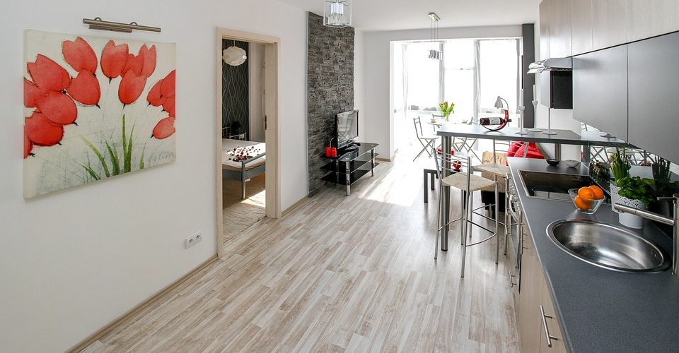 mieszkanie - przykładowa aranżacja