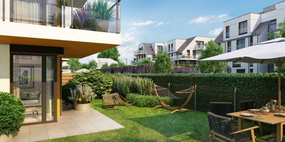 Lokum Villa Nova - mieszkania z ogrodem